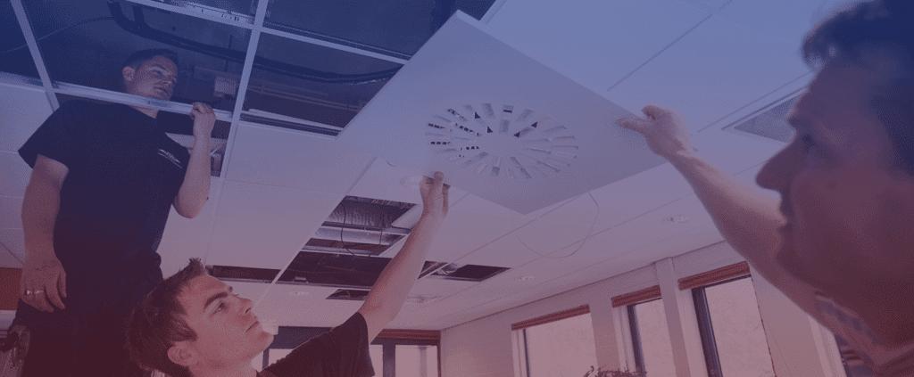 klimaatbeheersing in kantoren en gebouwen